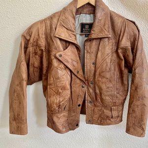 Vintage Byrnes and Baker 100 % leather jacket